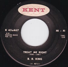 Northern Soul / R&B----B.B. KING--Treat Me Right / Who Can Your Good Man Be---