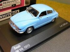WB029 WhiteBox 1:43 Druckguss Modellauto - Saab 96 V4 1970 - & UK