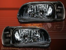 BLACK HOUSING HEADLIGHTS FOR 2000-2001 NISSAN MAXIMA SE GXE GLE