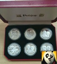 1995 1996 LIBERIA $10 Ten Dollars Star Trek Silver Proof Coin Collection Set