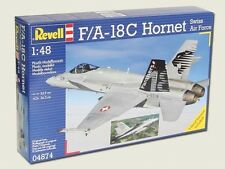 New Revell 1:48 F/A-18C Hornet Swiss Air Force Model kit