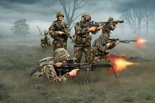 British Infantry Modern Group Troops Plastic Kit 1:72 Model REVELL