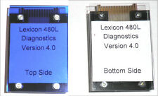 New DJR Dignostics Test Cartridge V 4.0 For Lexicon 480L, 15 Test Programs. LP