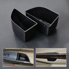 2Pcs Front Door Armrest Storage Box Holder For Honda Accord 2008-2010 2011 2012