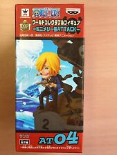 New One Piece World Collectible Figure ATTACK AT04 Sanji WCF Banpresto JAPAN