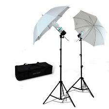 Photography Umbrella 400 watt Continuous Lighting Kit Video portrait Light set