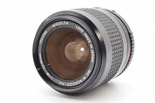 Minolta MC W.Rokkor-HH 35mm f/1.8 exc MF  wide Lens for NEX a7 from japan 78829