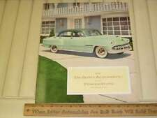 1954 DeSoto Car Sales Brochure