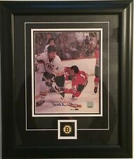 BOBBY ORR Boston Bruins Signed/Autographed 8 X 10 Photo FRAMED - GNR COA