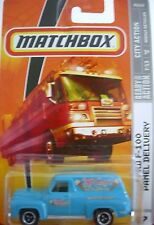 Matchbox 2009 MBX City Action #47 Ford F-150 Panel Delivery Blue