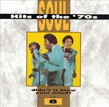 Soul Hits Of The 70's Vol 8 CD  Isaac Hayes Bill Withers O'Jays LN