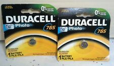 2  Duracell   765 1.5 M576 EPX76/SR44 Photo Single Oxide Battery