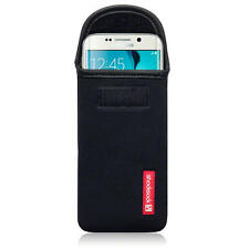 Shocksock Neoprene Pouch Case for Samsung Galaxy S6 Edge - Black