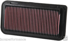 TOYOTA COROLLA IX 1.4/1.6/1.8 (01-07) K&N HIGH FLOW AIR FILTER ELEMENT 33-2252