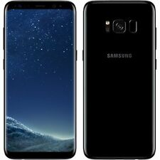 New Samsung Galaxy S8 Plus Midnight Black SM-G955F LTE 64GB 4G Factory Unlocked