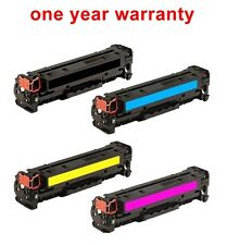 4pk Black&color print ink toner Cartridge for HP 125A CP1518ni laserjet printer