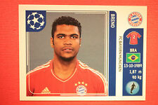 PANINI CHAMPIONS LEAGUE 2011/12 N.8 BRENO BAYER WITH BACK BLACK MINT!!