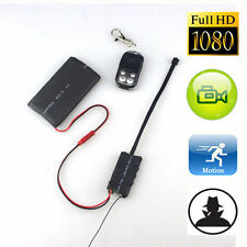 Full HD 1080P 12MP DIY Module Spy Hidden Camera Camcorder DVR Cam+Remote Control