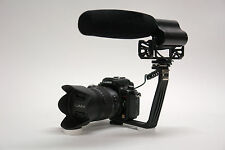 Pro VM XL-2 HD DLSR video mic for Panasonic Lumix DMZ G7 GH4 GH3 FZ1000 SLR