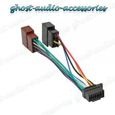 Sony 16 PIN AUTO ESTÉREO RADIO arnés de cableado ISO Conector de Cable Adaptador SO-101