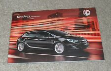 Vauxhall Astra Brochure 2011 Ed 1 - SRI SE Elite 1.4 1.6 Turbo 1.3 1.7 2.0 CDTI