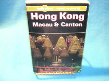Lonely Planet Hong Kong Macau & Canton Travel Guide 3rd edition, 1994