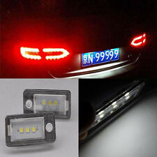 2 Error Free 3 SMD Led License Number Plate light For Audi A3 A4 A6 A8 Q7 A8 RS6