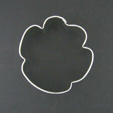 "SMALL PAW 2.5""  METAL COOKIE CUTTER CAT DOG ANIMAL STENCIL PARTY FAVOR FONDANT"