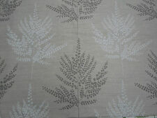 Harlequin Curtain Fabric~ 'Folium' 5.1 METRES Hemp/Chalk ~ Linen Blend