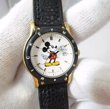 "MICKEY MOUSE,Seiko,7N82-6859,""Date/Just Dial"" ,LADIES CHARACTER WATCH,1214,L@@K"