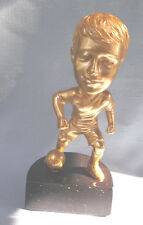Bobble head male SOCCER statue trophy  resin award BH109