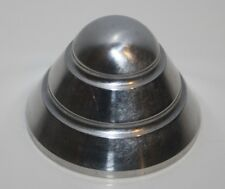 NEW ROCKET POLISHED ALUMINUM 45 RPM TURNTABLE ADAPTER