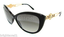Authentic VERSACE Black Cat Eye Sunglass VE 4295 - GB1/11 *NEW*