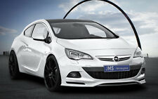 JMS Pedale front spoiler labbro per OPEL ASTRA J GTC COUPE