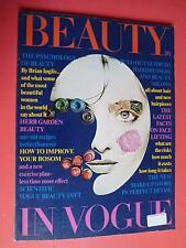 BEAUTY IN VOGUE 1969 Veruschka Twiggy Jane Birkin Catherine Deneuve Just Jaeckin