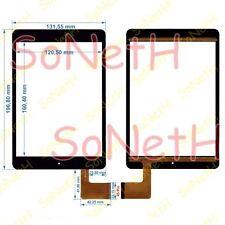 """Vetro Touch screen Digitizer 7,85"""" FPCA-79D4-V01 ZC 1415 Nero"""