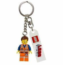 THE LEGO MOVIE EMMET MINIFIGURE KEY CHAIN ITEM # 850894 *NEW WITH TAG* 2014