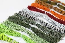 16 bundles/lot DIY Silicone Legs Barred Color Pearl Flake Fly Tying Material