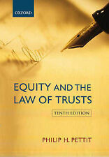 Equity and the Law of Trusts, Pettit, Philip H.