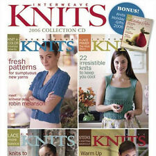 4 Issues on CD: INTERWEAVE KNITS MAGAZINE 2006 Complete Cables Yoke Pullover