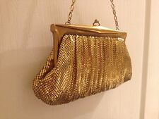 Vintage Whiting & Davis Gold Mesh Purse