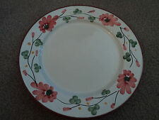SET OF 2 COST PLUS WORLD MARKET DINNER PLATES MADE IN PORTUGAL