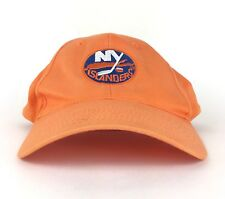 NHL New York Islanders Atlantic Toyota Orange Baseball Cap Hat Adj Adult Size