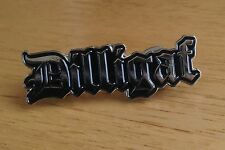 DILLIGAF Enamel Pin Badge Motorcycle Biker Rocker Goth Punk