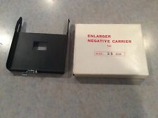 35MM  NEGATIVE CARRIER ENLARGER  New