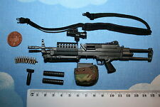 DAMTOYS 1/6TH SCALE NAVY SEAL RECONTEAM SAW GUNNER SAW LMG  NO.93012