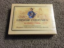 (AW1) Sealed Chinese Costumes Henry Francis Du Pont Winterhur Playing Card Decks