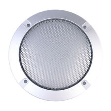 2PCS 4 Inch Silver Type Circle Speaker Decorative Circle Protective Grille LF