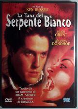 LA TANA DEL SERPENTE BIANCO - Russell DVD Grant Donohoe Oxenberg Capaldi