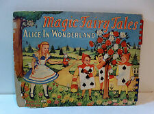"""Alice in Wonderland"" by Emma McKean 1943, Magic Fairy Tales movement book"